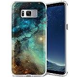 ZUSLAB Galaxy S8 Hülle, Himmel Muster Flexible Weich TPU Silikon Schutz Handy-Hülle Tasche Schutzhülle für Samsung Galaxy S8 [Mehrfarbig Himmel]