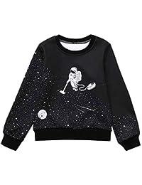 Selou Jungen und Mädchen Lace Sewing Warm Sweatshirt Baby Farbe Cute Pullover Herbst und Winter Mode Langarm Kinder Shirt Top Bottom warme Jacke