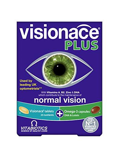 Vitabiotics Visionace Plus 28 Caps/Tabs, 59 g