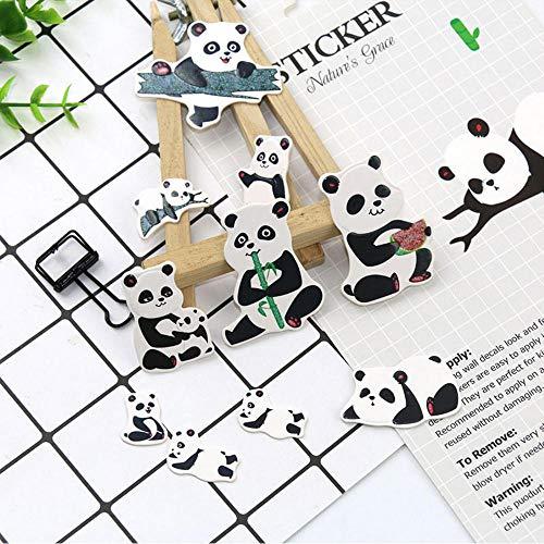 Aufkleber Cartoon Tier Dekorative Papier Aufkleber Diy Tagebuch Scrapbooking Zubehör Für Schule Supplie Mädchen Geschenk ()