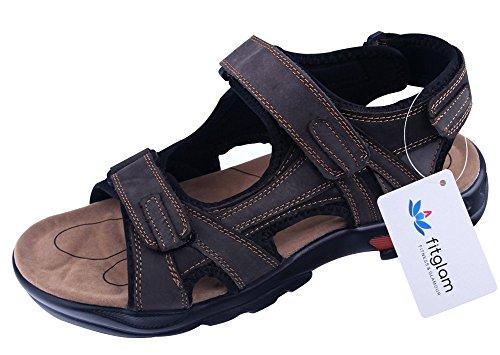 fitglam-sandali-sportivi-uomo-465-eu-marrone-brown-46