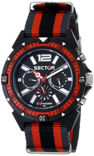 Sector  R3251197030 - Reloj de cuarzo para hombre, con correa de tela, color azul