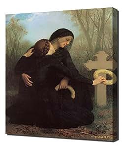 William Bouguereau - Le Jour Des Morts - Haute Qualité Reproduction - Impression Sur Toile