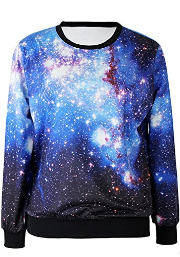 THENICE Femme impression manches longues Sweat-shirts Star