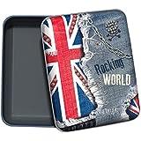 QUO VADIS BOITE A BONS POINTS Union Jack 08x10x02,5 cm