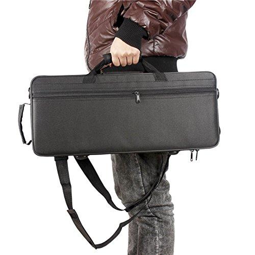 Trompete Gigbag Case Box Trompete Tasche, Oxford Tuch Wasserabweisender Trompeten Rucksack mit verstellbarem Dual-Schulterriemen Pocket Foam Cotton gepolstert