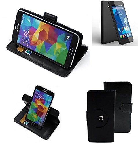 360-cover-smartphone-case-for-haier-g31-black-wallet-case-stand-function-bookstyle-best-price-best-p