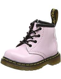 Dr. Martens Brooklee B, Botines Infantil, Rosa (Baby Pink Patent Lamper), 21 EU