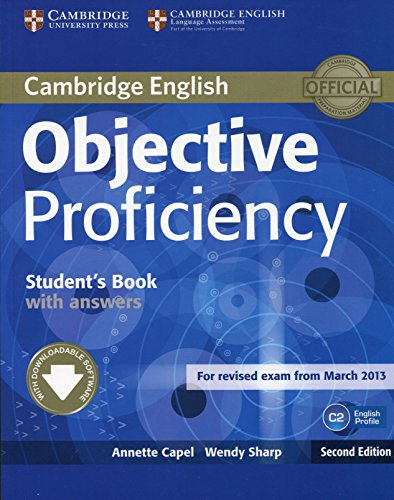 Objective Proficiency Student's Book with Answers with Downloadable Software 2nd Edition
