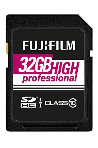 Fujifilm - Scheda di memoria 32GB SDHC UHS-I, classe