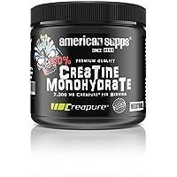 Preisvergleich für American Supps Creatin Monohydrat Creapure Pulver Kreatin Creatine Monohydrate Bodybuilding Muskelaufbau - Neutral...