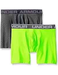 Under Armour Men's (2 Pack) Original 6-Inch Boxerjock