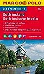 MARCO POLO Freizeitkarte Ostfriesland...