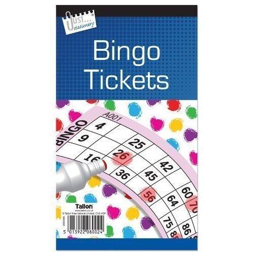 Jumbo Bingo 2 X 480/Pad Book Tickets. 6, 1 kaufen, 1 gratis (Große, fette, leicht lesbare Nummern)