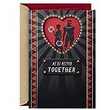 Hallmark Marvel Black Panther Valentinstagskarte für Signifikant Andere (schwarzer Panther und Nakia)