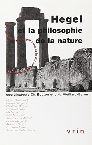 Hegel et la philosophie de la nature