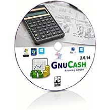 GnuCash Small Business Accounting, Bookkeeping, Tax & Personal Finance Software(DVD)