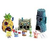 Spongebob Schwammkopf Aquarium-Dekorations-Set, 11-teilig