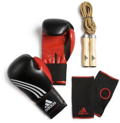 adidas ADIBPKITSMU Boxing Set Men, black-red