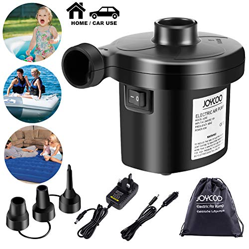 83150 AC240V 130W Electric Air Pump Inflator Deflator For Airbeds Paddling Pools