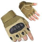 freemaster Herren Handschuhe Tactical Radfahren Handschuhe-Fingerlose Halbfinger Militär Airsoft Jagd Reiten