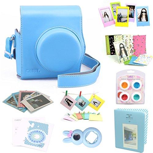 caiul-9-in-1-fujifilm-instax-mini-8-accessories-bundleblue-2nd-generation-mini-8-case-mini-album-sel