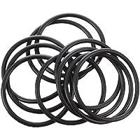 SODIAL(R) 10 pieces 32 mm x 2 mm joint torique en caoutchouc elastique Industriel