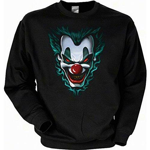 Fun Sweat-Shirt - Halloween Clown - Nacht der langen Schatten (Schocker Kostüm)