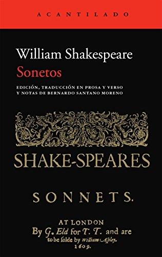 Sonetos (Acantilado) por William Shakespeare