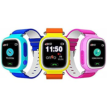 anio two wlan touch kinder gps smartphone watch amazon. Black Bedroom Furniture Sets. Home Design Ideas
