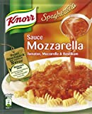 Knorr Spaghetteria Sauce Mozzarella Tomate, Mozarella und Basilikum, 10er Pack (10 x 250 ml)