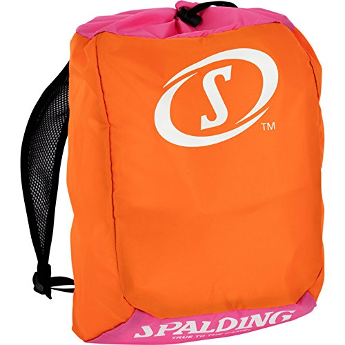 Spalding 300453502 Bolsa Tipo Saco, Unisex Niños, Zanahoria, Talla Única