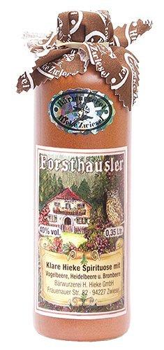 Hieke Zwiesel Forsthäusler 40% Bärwurzerei (Vogelbeere, Heidelbeere und Brombeere)