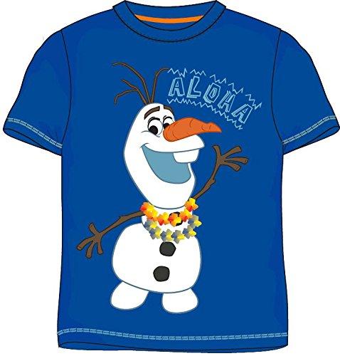 Disney Frozen - Die Eiskönigin T-Shirt (134, Aloha - Blau) (Aloha Shirt Jungen)
