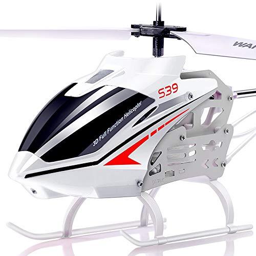 Kikioo Mini Super Stable Resistance To Falling Remote Metall Gyro Flugzeug Flugzeug Drohne Hubschrauber Spielzeugauto Flug Infrarot-Induktions-Flash-Spielzeug Leicht zu erlernen Gute Bedienung Junge S - Story 4k Toy
