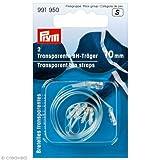 PRYM 10mm 2teilige BH-Träger, transparent