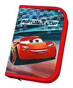 Undercover caad0440-Estuche Escolar con STABILO Marca Relleno, Disney Pixar Cars 3, 30Piezas