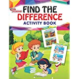 Find The Diffrence Activity Book