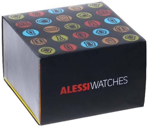 Alessi Kinder-Armbanduhr Analog Quarz Plastik blau AL23000 - 3