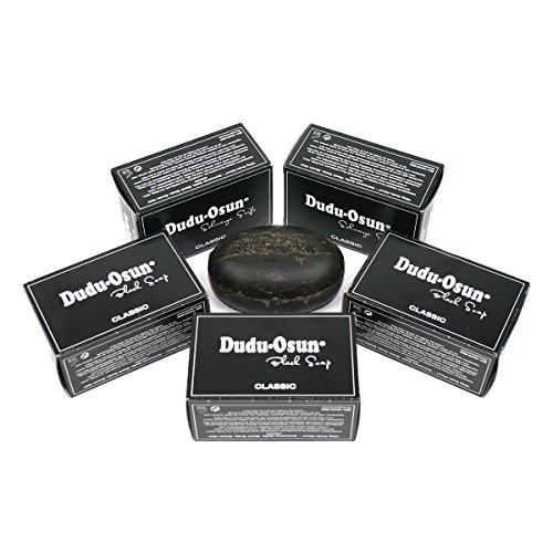 5er Pack Dudu Osun - Schwarze Seife aus Afrika Original Black Soap 5x150g -