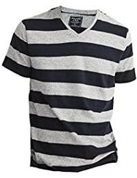 Abercrombie - Homme - V-Neck Tee T-Shirt Top - Manche Courte