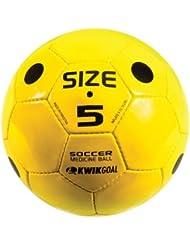 Kwik Goal Soccer Medizinball, gelb von Kwik Ziel