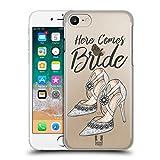 Head Case Designs Schuhe Braut Sammlung Ruckseite Hülle für Apple iPhone 7 / iPhone 8