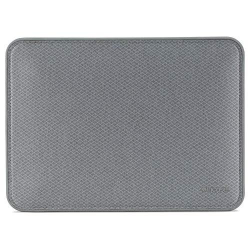 "Incase Icon Sleeve Schutzhülle für Apple MacBook Pro 13,3\"" (2016 - 2018) / Air 13,3\"" (Late 2018) - Grau [Diamond Ripstop-Technologie I Kunstfell-Interieur I Magnetverschluss] - INMB100265-CGY"