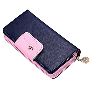 WIDEN Fashion Lady Women Clutch Long Purse Leather Wallet Card Holder Handbag Bags