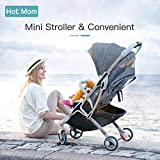 Hot Mom super Light Buggy Super Light Cannes poussettes Mini T - Gris