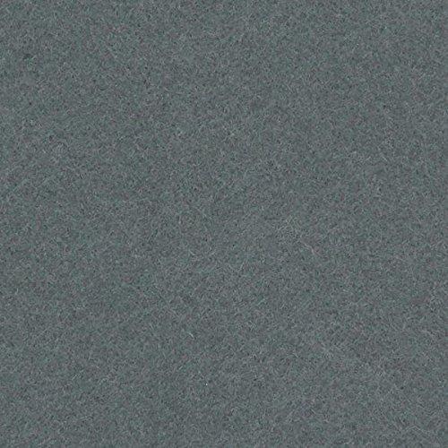 Fabulous Fabrics Filz 180 cm / 2mm stark, 3 grau - Meterware ab 0,5m - zum Nähen von Kopfbedeckung, Karneval und Accessoires