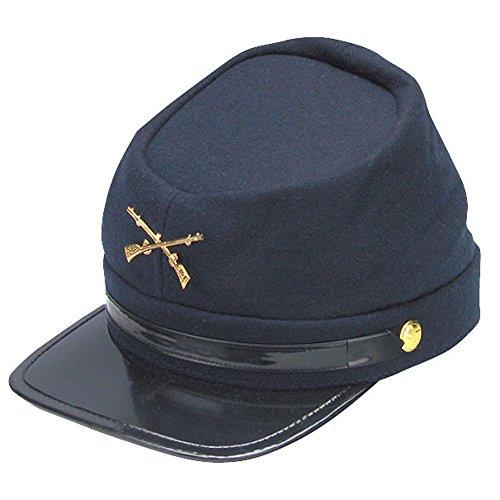 60f9202b5ef Guerra Civil Kepi Unión ejército gorro de lana azul con nosotros del Norte  (sombreros tamaño