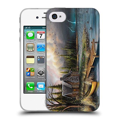 Ufficiale Chuck Black Bentornato a casa Cabina Cover Morbida In Gel Per Apple iPhone X Tempesta perfetta