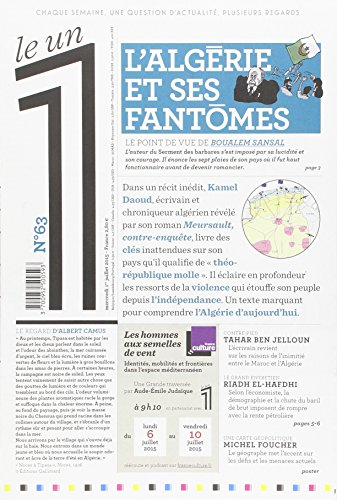 Le 1 - n°63 - L'Algérie et ses fantômes par  Collectif